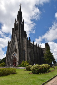 """Stone Cathedral (""""Catedral de Pedra"""") in Canela"""