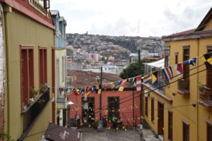 Concepción Hill - view of Valparaíso