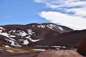 Views on the way to Laguna Brava